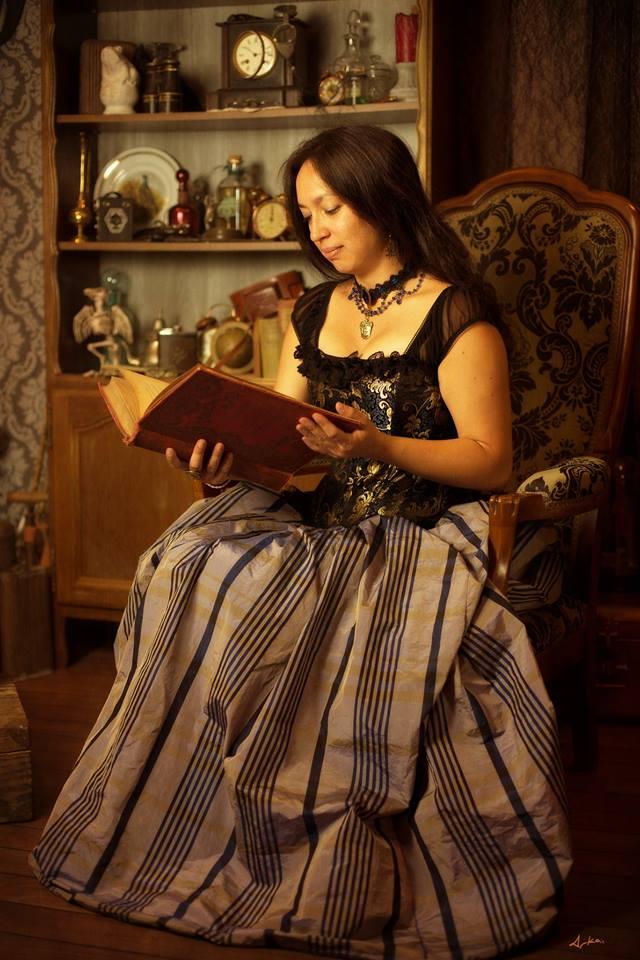 Tepthida Hay, auteure steampunk aux éditions Oneiroi