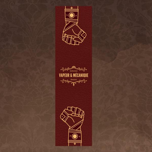 Marque-page steampunk lutte des classes