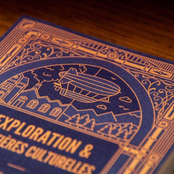Exploration et frontières culturelles anthologie steampunk vol. 3